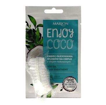 Marion Enjoy Coco – zabieg olejowania włosów na ciepło z olejem kokosowym (20 ml)