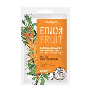 Marion Enjoy Fruit – zabieg olejowania włosów na ciepło (20 ml)