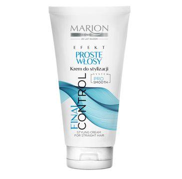 Marion Final Control – krem do stylizacji włosy proste (150 ml)