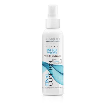 Marion Final Control – płyn do stylizacji proste włosy (200 ml)