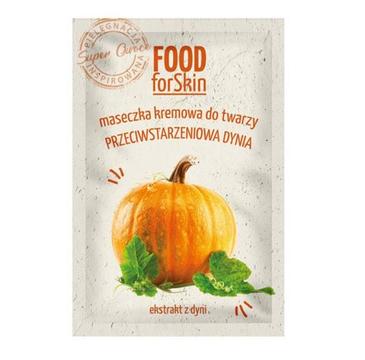 Marion Food for Skin Maseczka przeciwstarzeniowa, kremowa do twarzy Dynia (6 ml)