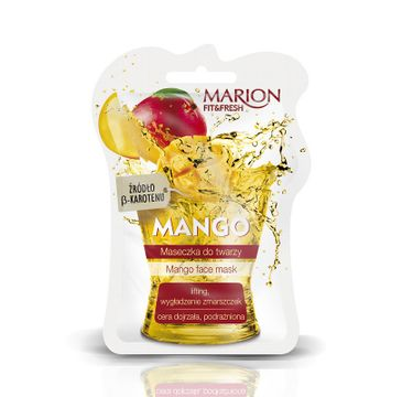 Marion Fit & Fresh – maseczka do twarzy mango (7.5 ml)