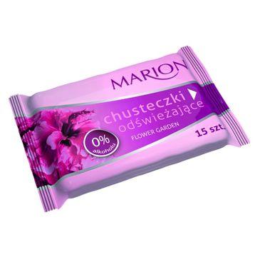 Marion Flower Garden – chusteczki do ciała odświeżające o zapachu kwiatowym (1 op.)