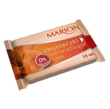 Marion Fruits – chusteczki do ciała odświeżające o zapachu owocowym (1 op.)