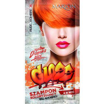 Marion Gloss – szampon koloryzujący nr 36 Rude Sombre (40 ml)