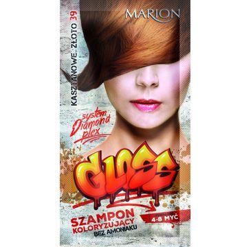 Marion Gloss – szampon koloryzujący nr 39 Kasztanowe Złoto (40 ml)