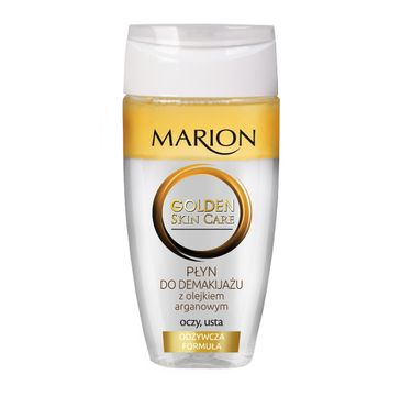 Marion Golden Skin Care – dwufazowy płyn do demakijażu oczu i ust (150 ml)
