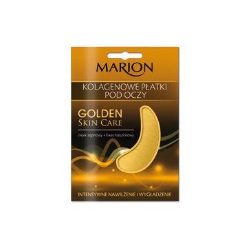 Marion Golden Skin Care – płatki pod oczy kolagenowe wygładzające (1 op.)
