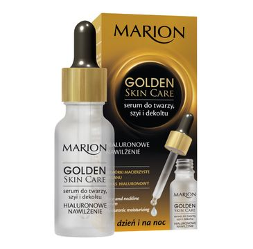Marion Golden Skin Care – serum do twarzy szyi i dekoltu nawilżające (20 ml)