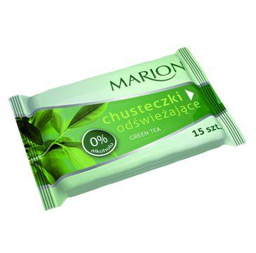 Marion – chusteczki odświeżające Green Tea (1 op.)