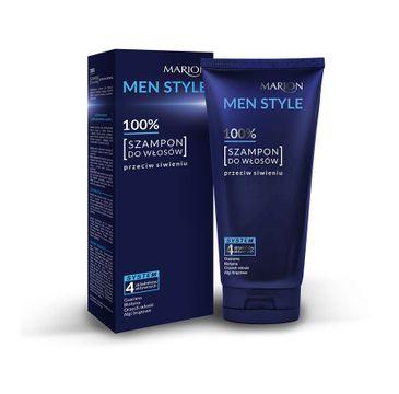 Marion Men Style – szampon do włosów przeciw siwieniu (150 g)