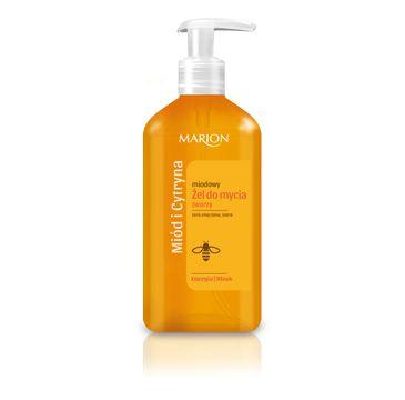 Marion – żel do mycia twarzy Miód i Cytryna (180 ml)