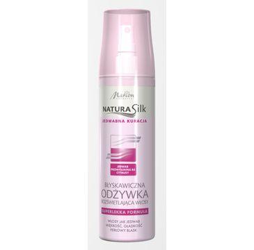 Marion Natura Silk – błyskawiczna odżywka rozświetlająca włosy (150 ml)