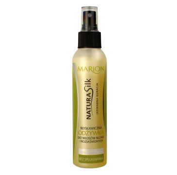 Marion Natura Silk – odżywka do włosów blond i rozjaśnionych (150 ml)