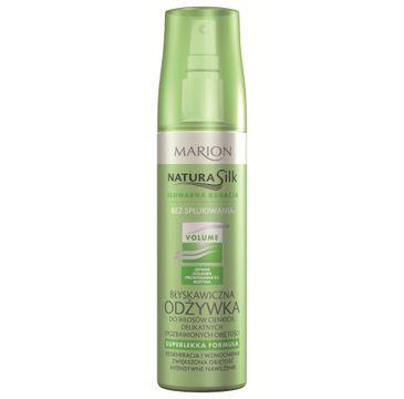 Marion Natura Silk – odżywka do włosów cienkich i bez objętości (150 ml)