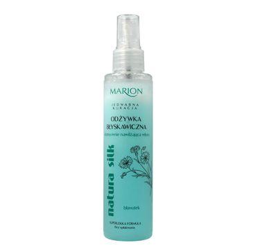 Marion Natura Silk – odżywka do włosów suchych i zniszczonych intensywnie nawilżająca (150 ml)