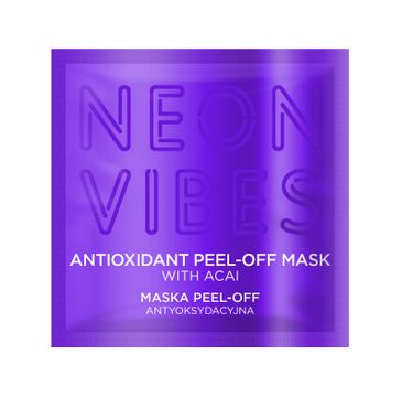 Marion Neon Vibes – maska do twarzy peel-off antyoksydacyjna (8 g)
