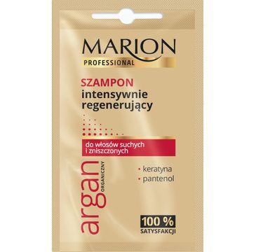 Marion Professional – szampon do włosów regenerujący  Argan Organiczny (10 g)