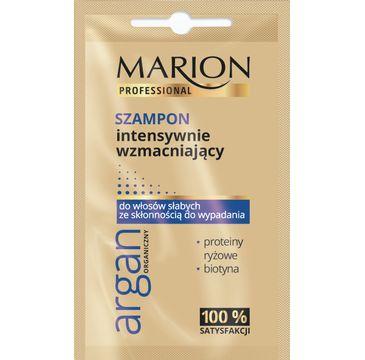 Marion Professional – szampon do włosów intensywnie wzmacniający Argan Organiczny (10 g)