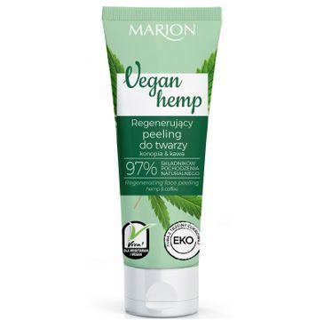 Marion – Regenerujący peeling do twarzy Vegan Hemp (75 ml)