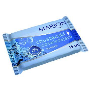 Marion Sea Breeze – chusteczki do ciała odświeżające o zapachu morskim (1 op.)