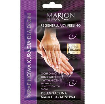 Marion Spa – peeling i maska – parafinowa kuracja do dłoni (4 g + 6 ml)