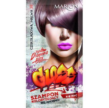 Marion Gloss – szampon koloryzujący nr 38 Czekoladowa Malwa (40 ml)