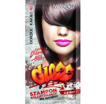 Marion Gloss – szampon koloryzujący nr 40 Gorzkie Kakao (40 ml)