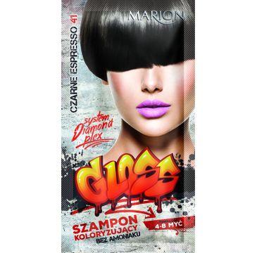 Marion Gloss – szampon koloryzujący nr 41 Czarne Espresso (40 ml)