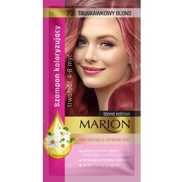 Marion – szampon koloryzujący nr 73 Truskawkowy blond (1 szt.)
