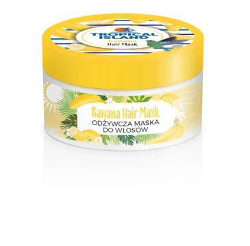 Marion Tropical Island – maska do włosów odżywcza Banan (200 ml)