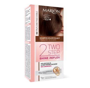 Marion Two Step Shine Reflex – szampon koloryzujący nr 402 Truflowe Paso Doble  (1 op.)