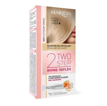 Marion Two Step Shine Reflex – Szampon koloryzujący nr 410 Platynowy Swing  (1 op.)