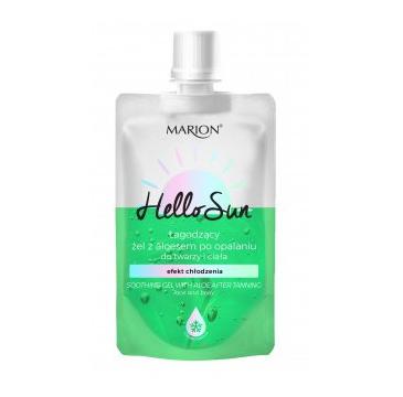 Marion Hello Sun Łagodzący Żel z aloesem po opalaniu (50 ml)