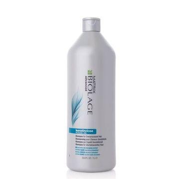 Matrix Biolage Advanced Keratindose Shampoo szampon nawilżająco-wygładzający do włosów zniszczonych zabiegami chemicznymi 1000ml