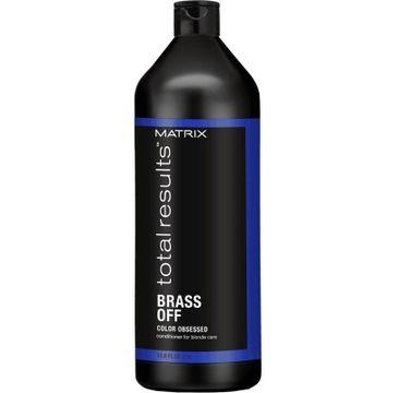 Matrix Total Results Color Obsessed Brass Off odżywka do włosów neutralizująca odcień 1000ml