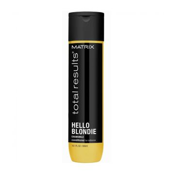 Matrix Total Results Hello Blondie Conditioner odżywka do włosów Blond 300ml