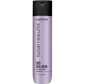 Matrix Total Results So Silver Color Obsessed Shampoo szampon neutralizujący żółte odcienie 300ml