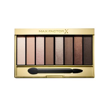 Max Factor Masterpiece Nude Palette Contouring Eye Shadows cienie do powiek 01 Cappuccino Nudes 6.5g