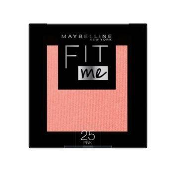 Maybelline – Fit Me Blush róż do policzków 25 Pink (5 g)