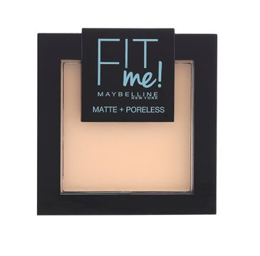 Maybelline Fit Me Matte Poreless Pressed Powder puder matujący do twarzy w kompakcie 104 Soft Ivory 9g