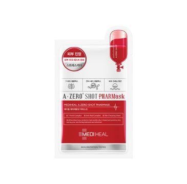 Mediheal A-Zero Shot Pharmask kojąca maska w płachcie do skóry tłustej i zaczerwienionej 23ml