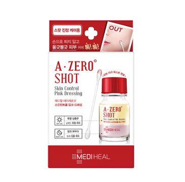 Mediheal A-Zero Shot Skin Control Pink Dressing płyn do twarzy regulujący niedoskonałości skóry 13g