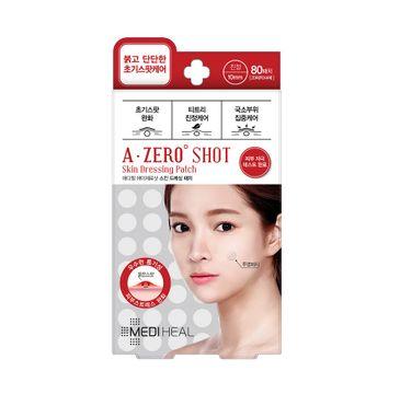 Mediheal A-Zero Shot Skin Dressing Patch (plasterki łagodzące niedoskonałości 80 szt.)