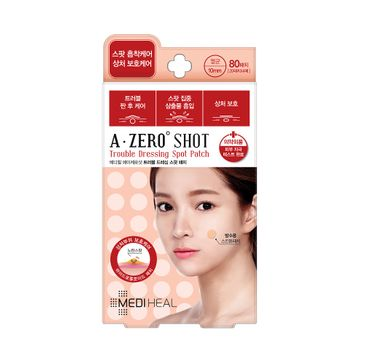 Mediheal A-Zero Shot Trouble Dressing Spot Patch hydrokoloidowe plasterki na niedoskonałości 80szt