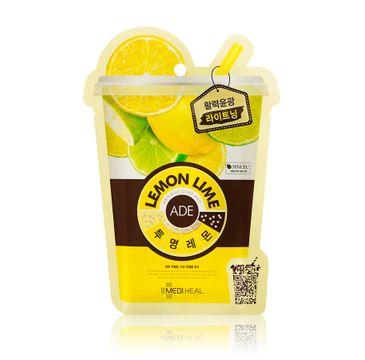 Mediheal Ade Mask Lemon Lime rozjaśniająca maska do twarzy 25ml