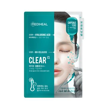 Mediheal Capsule 100 maska 2-etapowa z kwasem hialuronowym do każdego rodzaju cery 23ml + 4ml