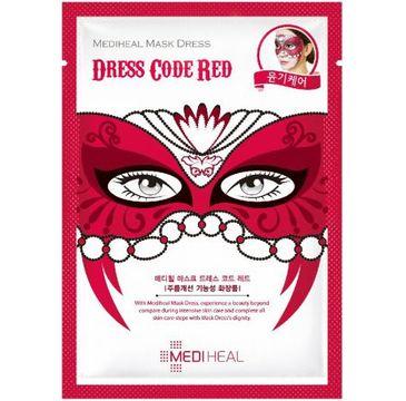 Mediheal Dress Code Red maska karnawałowa rozświetlająco-odmładzająca do twarzy 24ml