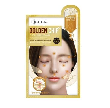 Mediheal Golden Chip Circle Point Mask maska rozjaśniająca do twarzy 25ml