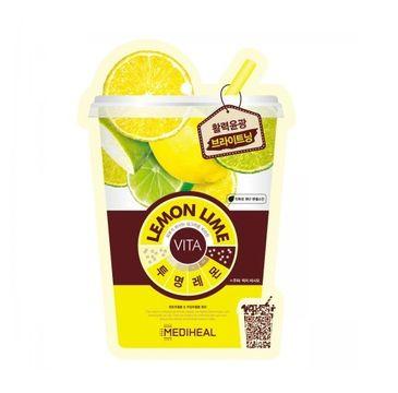 Mediheal Lemon Lime Vita Mask (maska z cytryną i limonką 20 ml)
